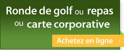 Achat de ronde golf et carte corporative