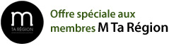 Special offer for M Ta Région Members