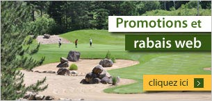 Promotions web sur nos forfaits golf